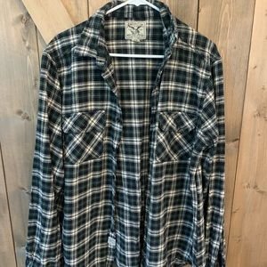 American Living Flannel Button Down